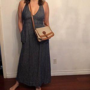 Cabi halter denim dress